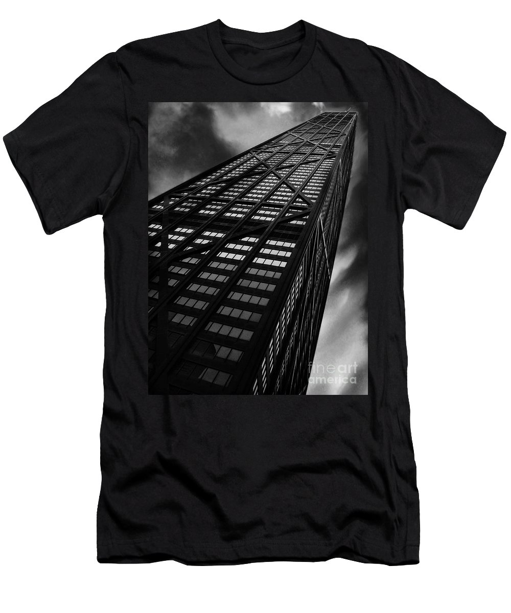 City Men's T-Shirt (Athletic Fit) featuring the photograph Limitless by Dana DiPasquale