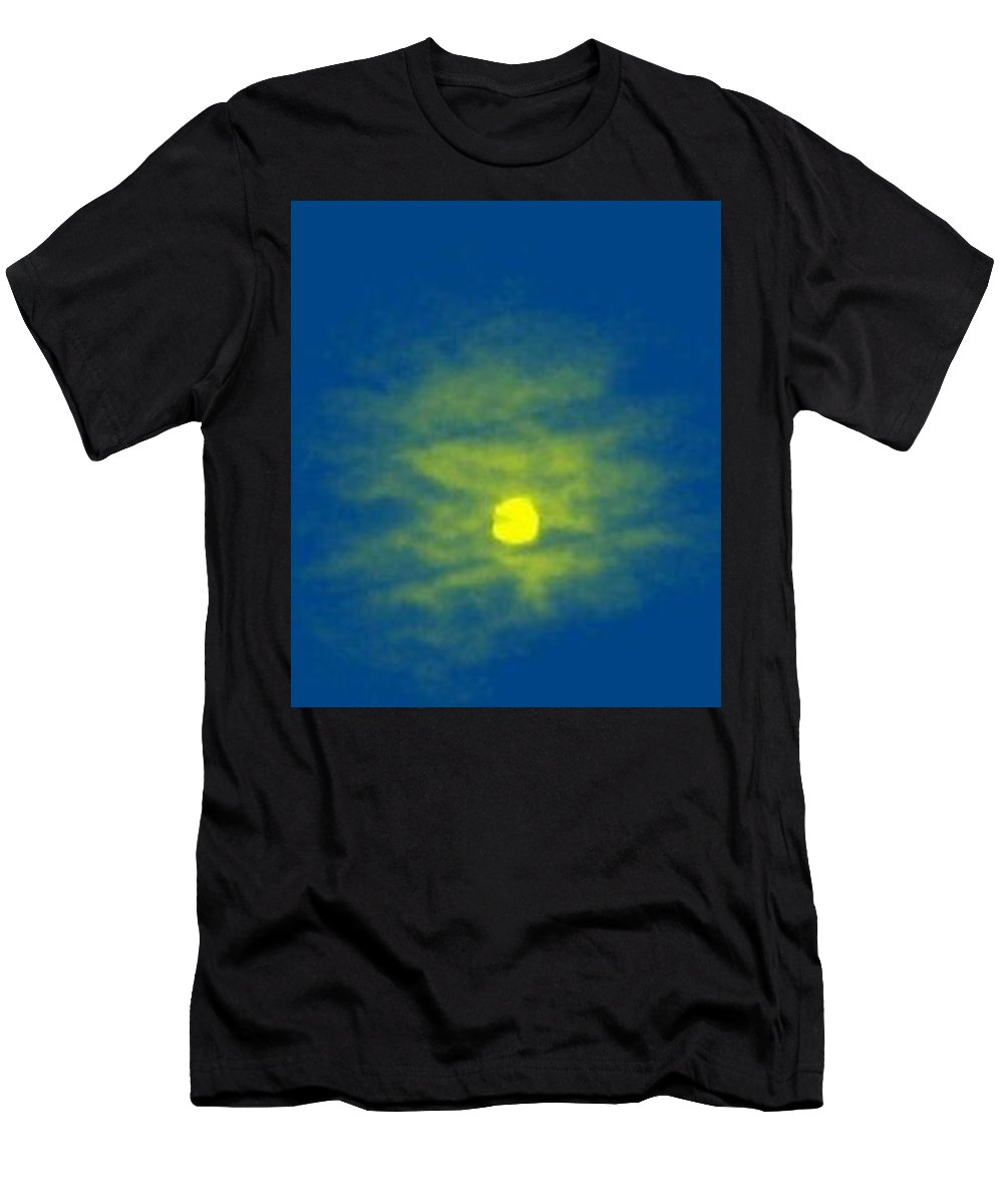 Men's T-Shirt (Athletic Fit) featuring the photograph Moon Face by Carl Granlund