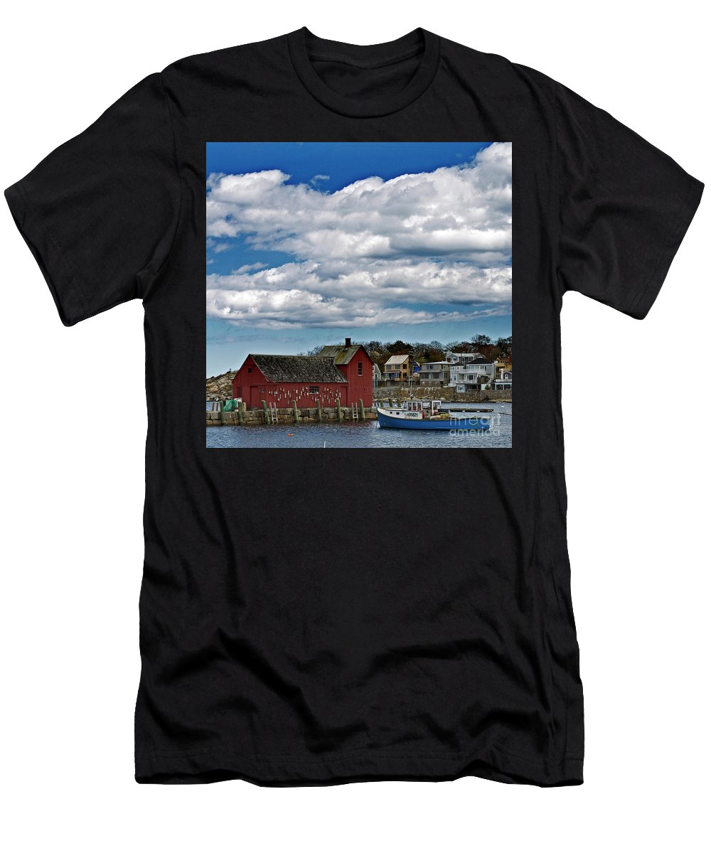 Landscapes Men's T-Shirt (Athletic Fit) featuring the photograph Motif No. 1 by Skip Willits