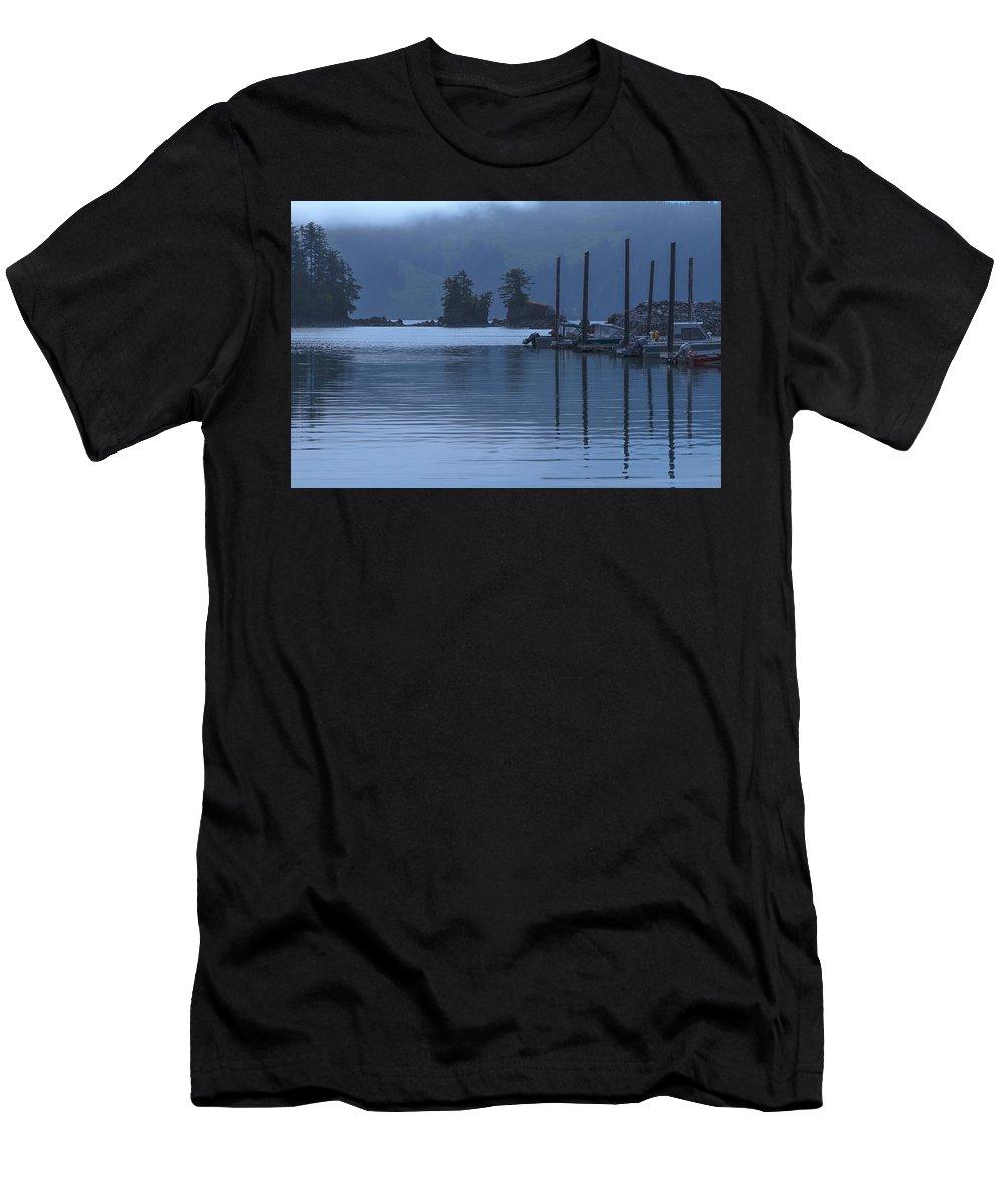 Alaska Men's T-Shirt (Athletic Fit) featuring the photograph Peaceful Kachemak Bay by Scott Slone