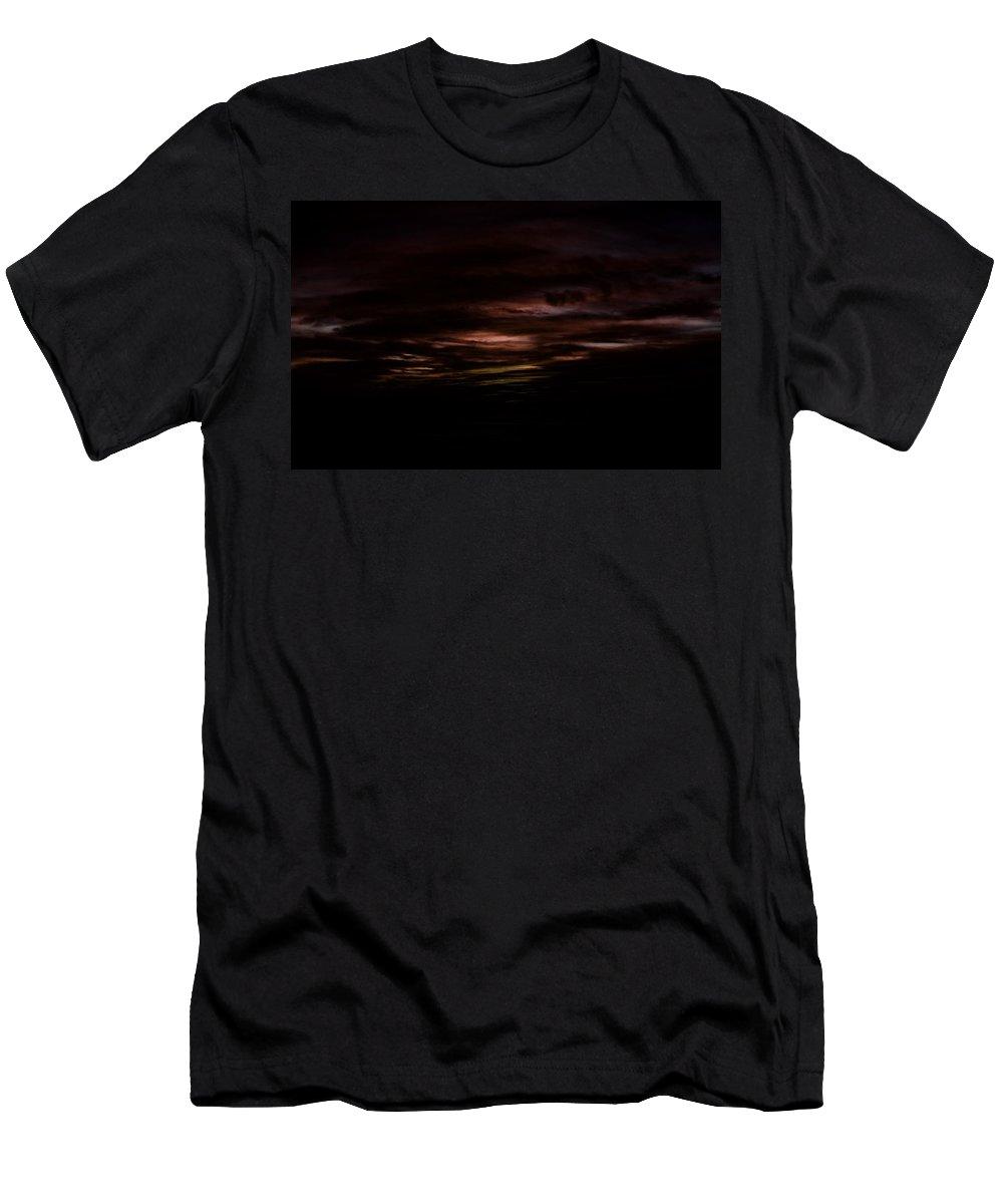 Sunrise Men's T-Shirt (Athletic Fit) featuring the digital art Sunrise by Lora Battle