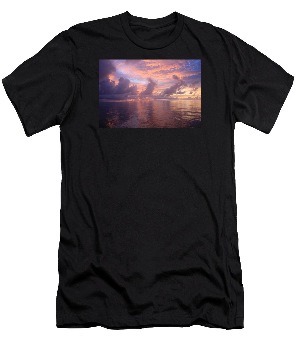 Sunrise Men's T-Shirt (Athletic Fit) featuring the photograph Sunrise by William Rogers