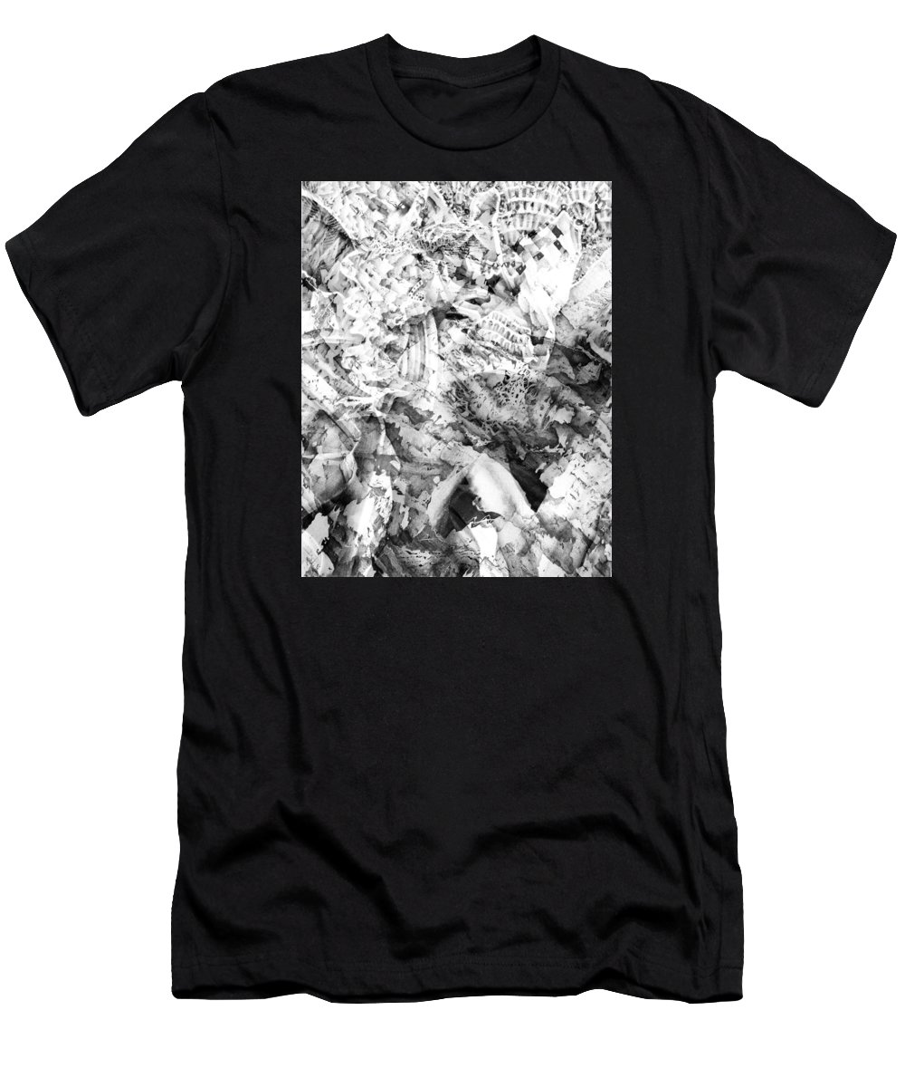 Abstract Men's T-Shirt (Athletic Fit) featuring the digital art 2012 8 26 by Bill Ellsworth