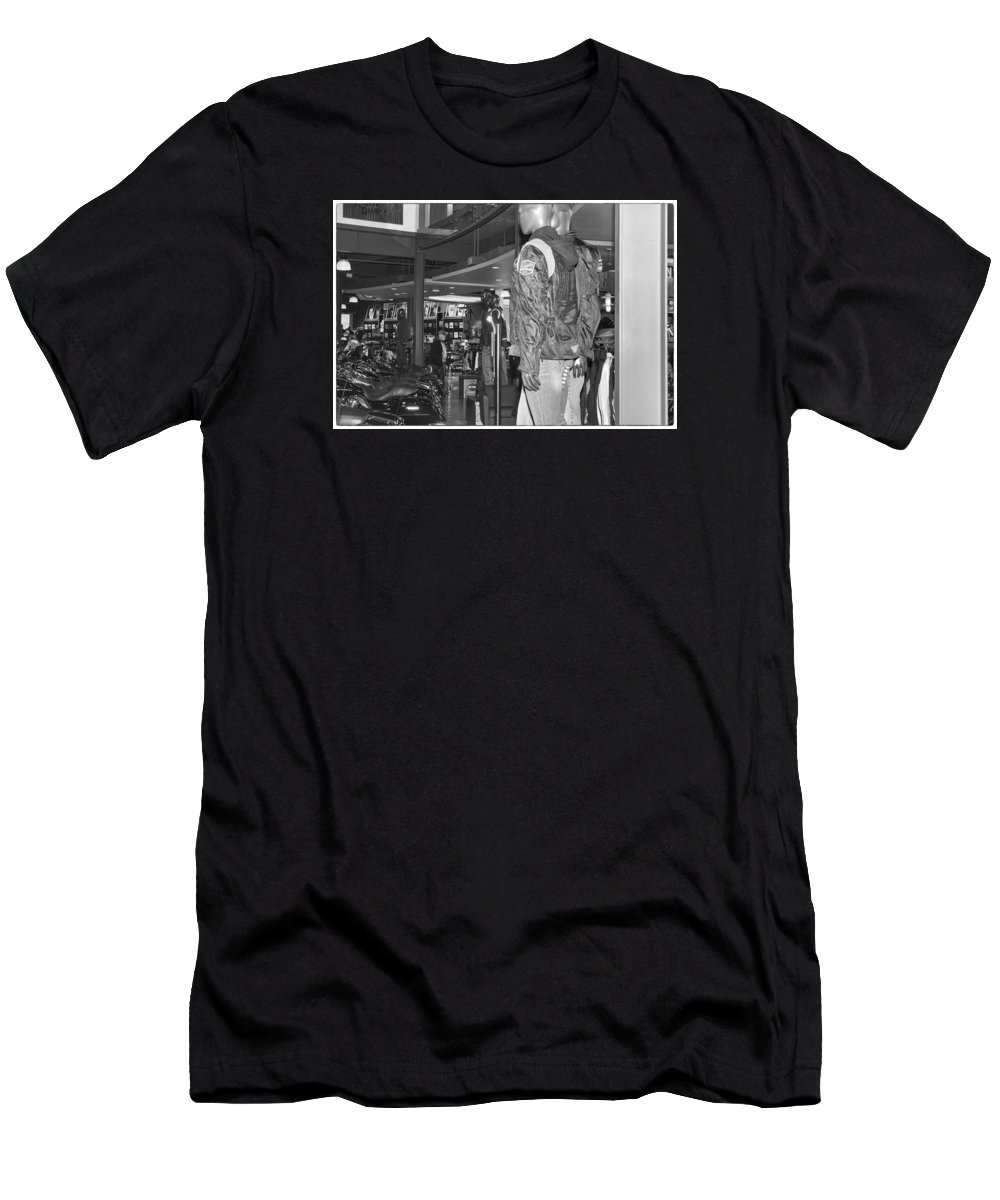 Harley-davidson Motor Cycles Men's T-Shirt (Athletic Fit) featuring the photograph Screw It, Just Ride by Marit Runyon