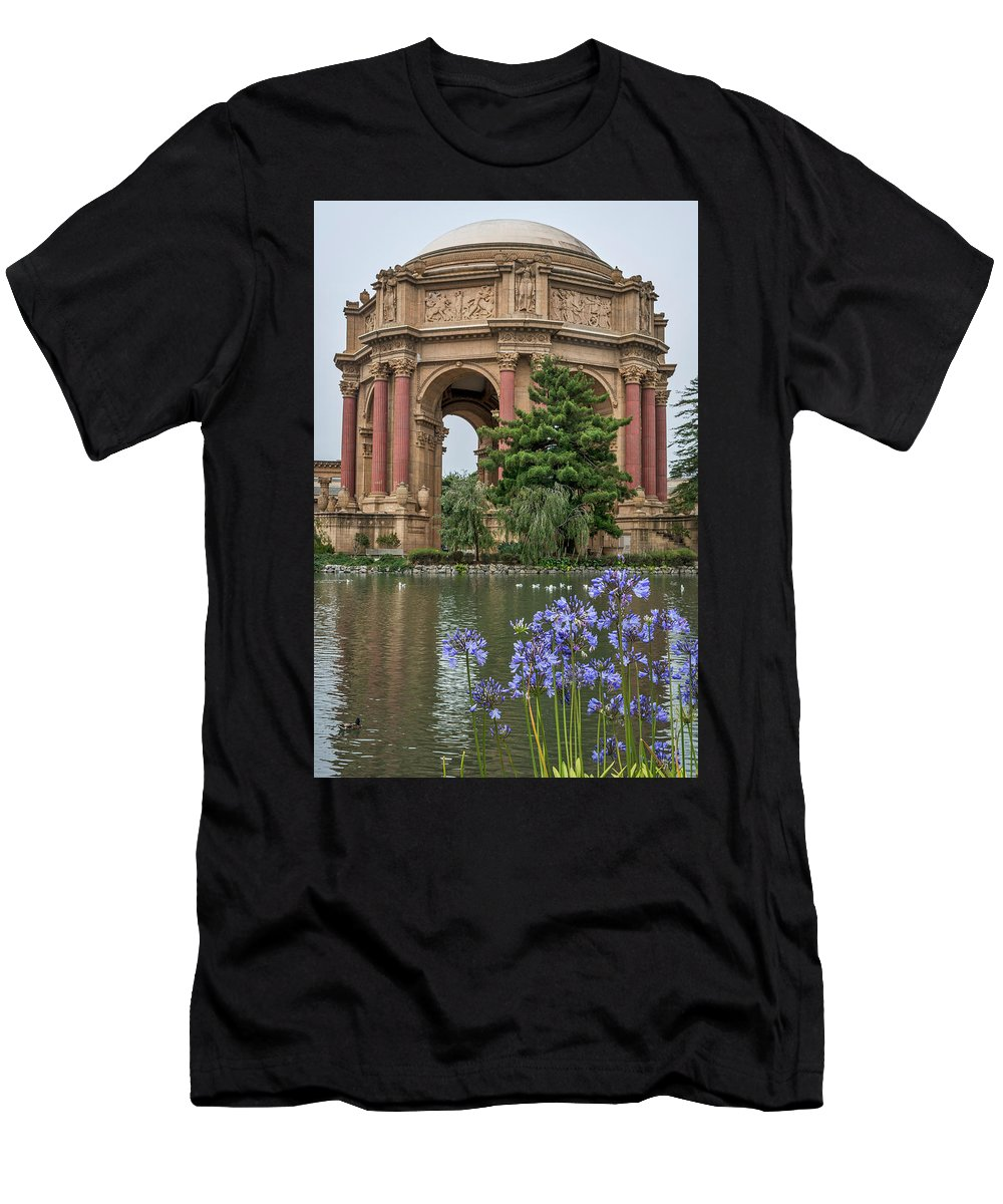 Palace Of Fine Arts Men's T-Shirt (Athletic Fit) featuring the photograph 2482- Palace Of Fine Arts by David Lange