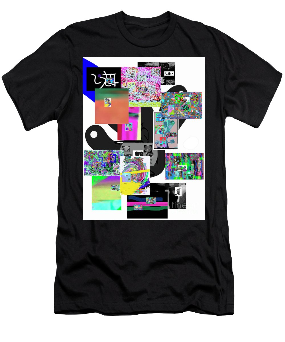 Walter Paul Bebirian Men's T-Shirt (Athletic Fit) featuring the digital art 3-13-2017d by Walter Paul Bebirian