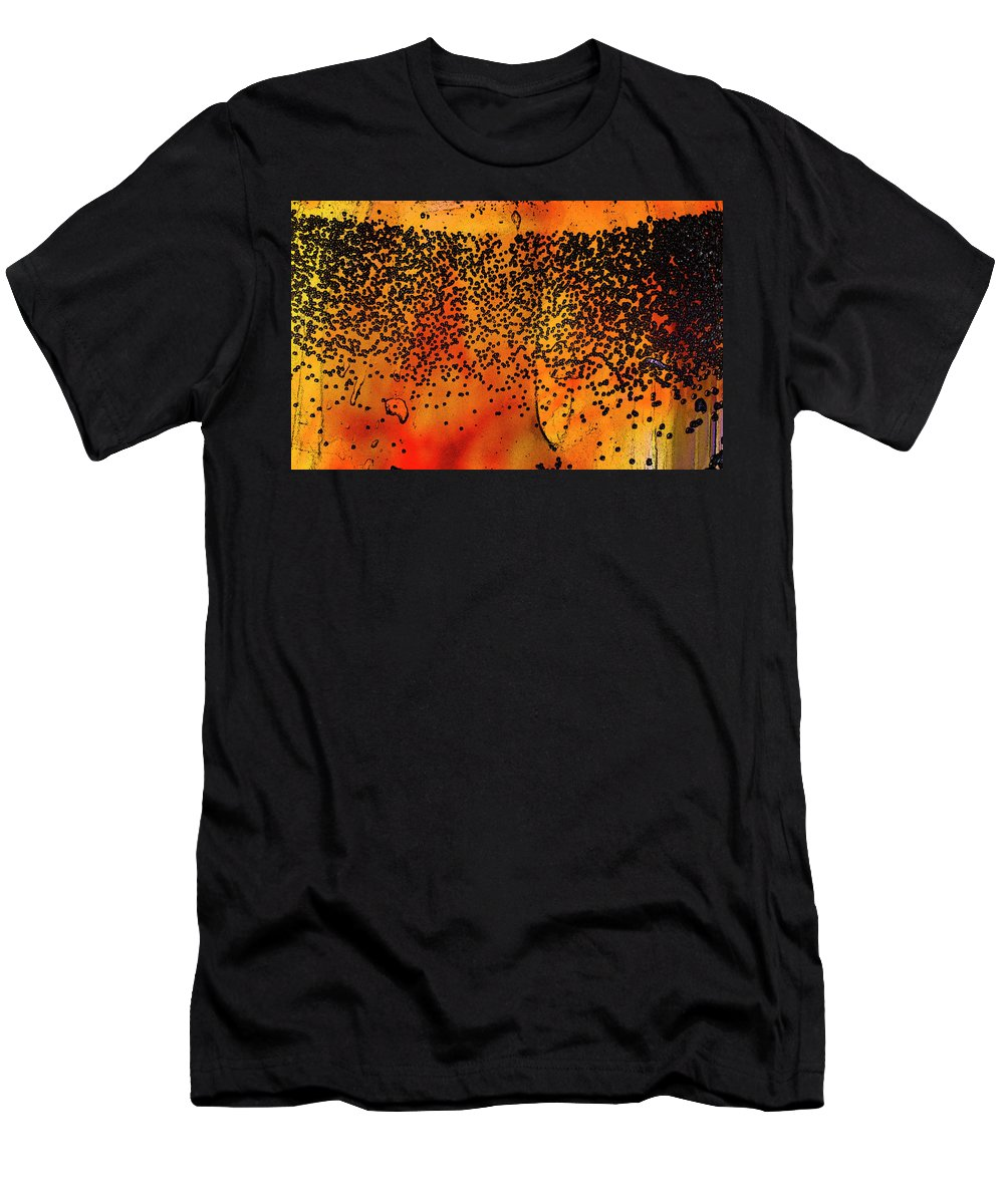 Abstract Men's T-Shirt (Athletic Fit) featuring the photograph Abstract Background by Elaine Els