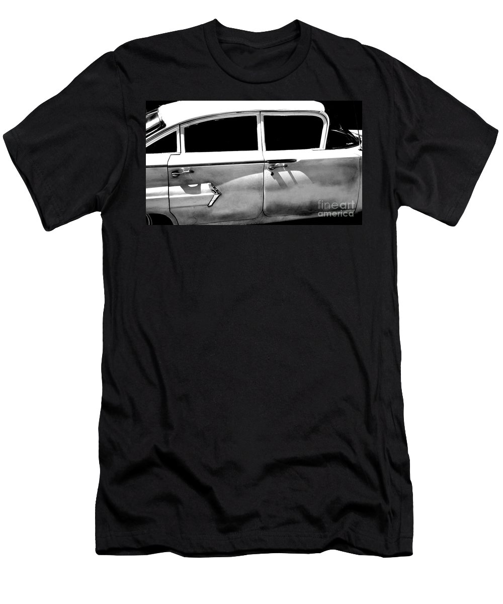 classic Cars Men's T-Shirt (Athletic Fit) featuring the photograph Biscayne by Amanda Barcon