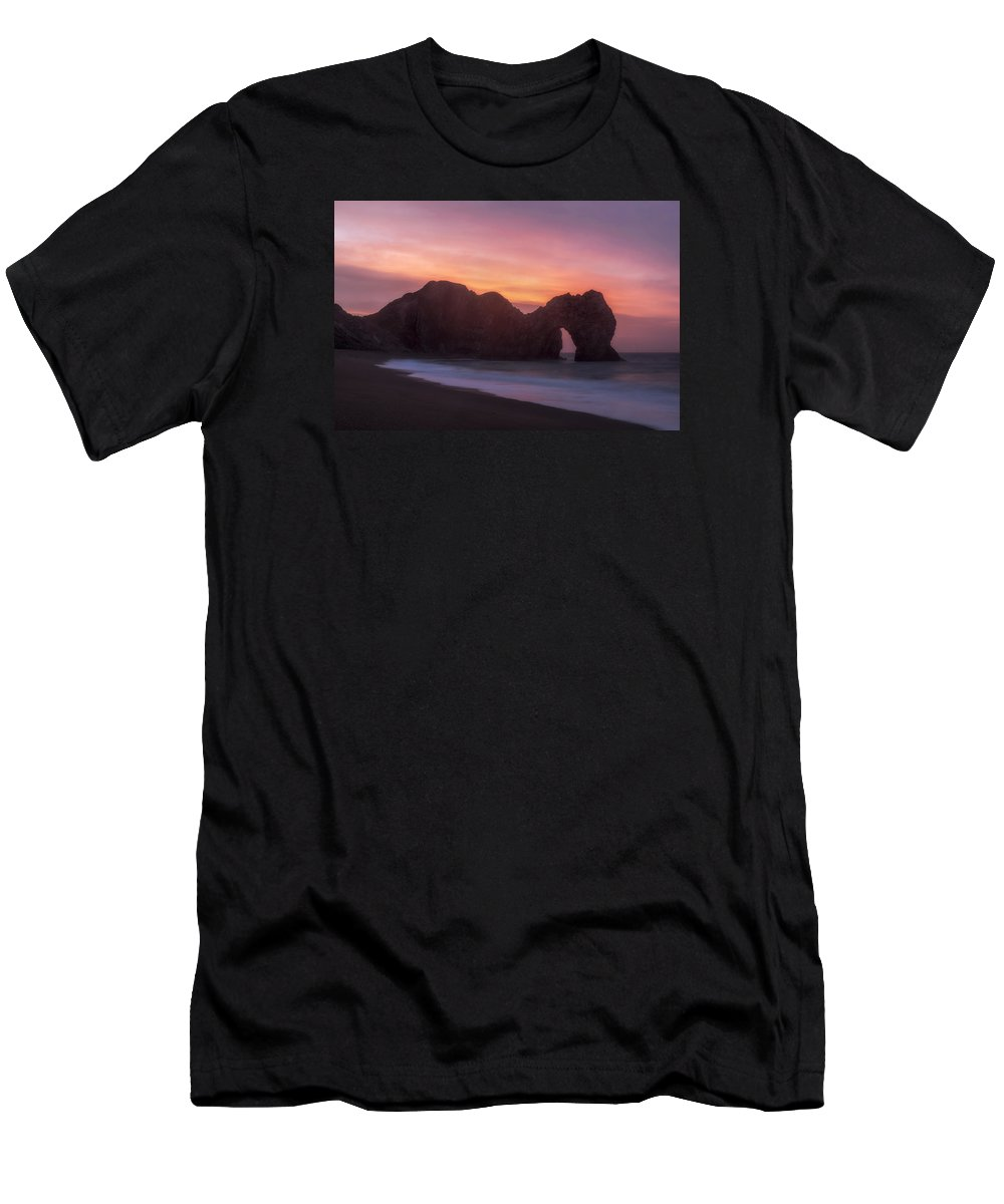 Durdle Door Men's T-Shirt (Athletic Fit) featuring the photograph Durdle Door - England by Joana Kruse