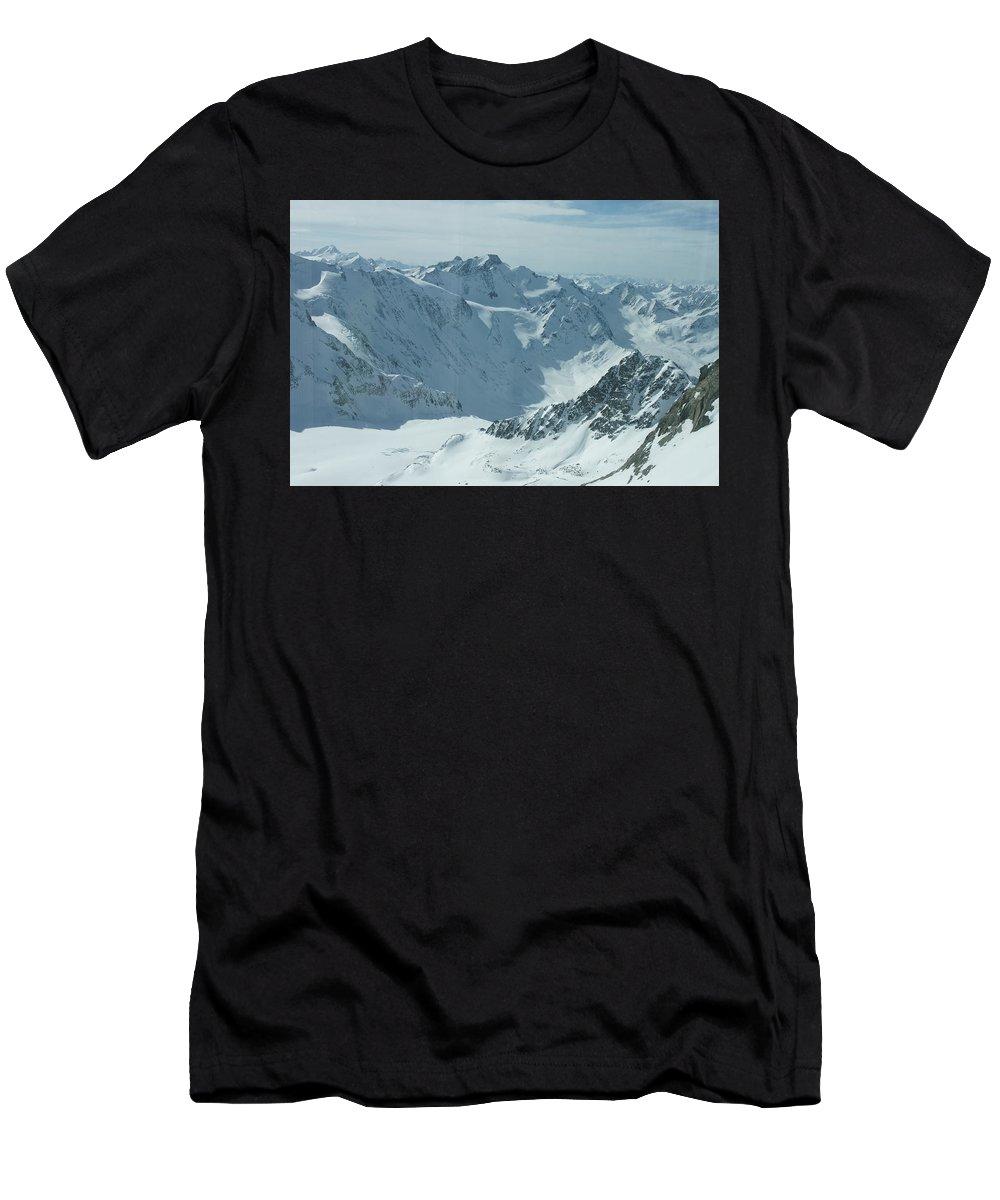 Pitztal Glacier T-Shirt featuring the photograph Pitztal Glacier by Olaf Christian