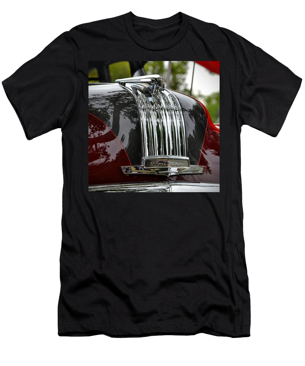 Chrome Men's T-Shirt (Athletic Fit) featuring the photograph Pontiac Chief by Dean Ferreira