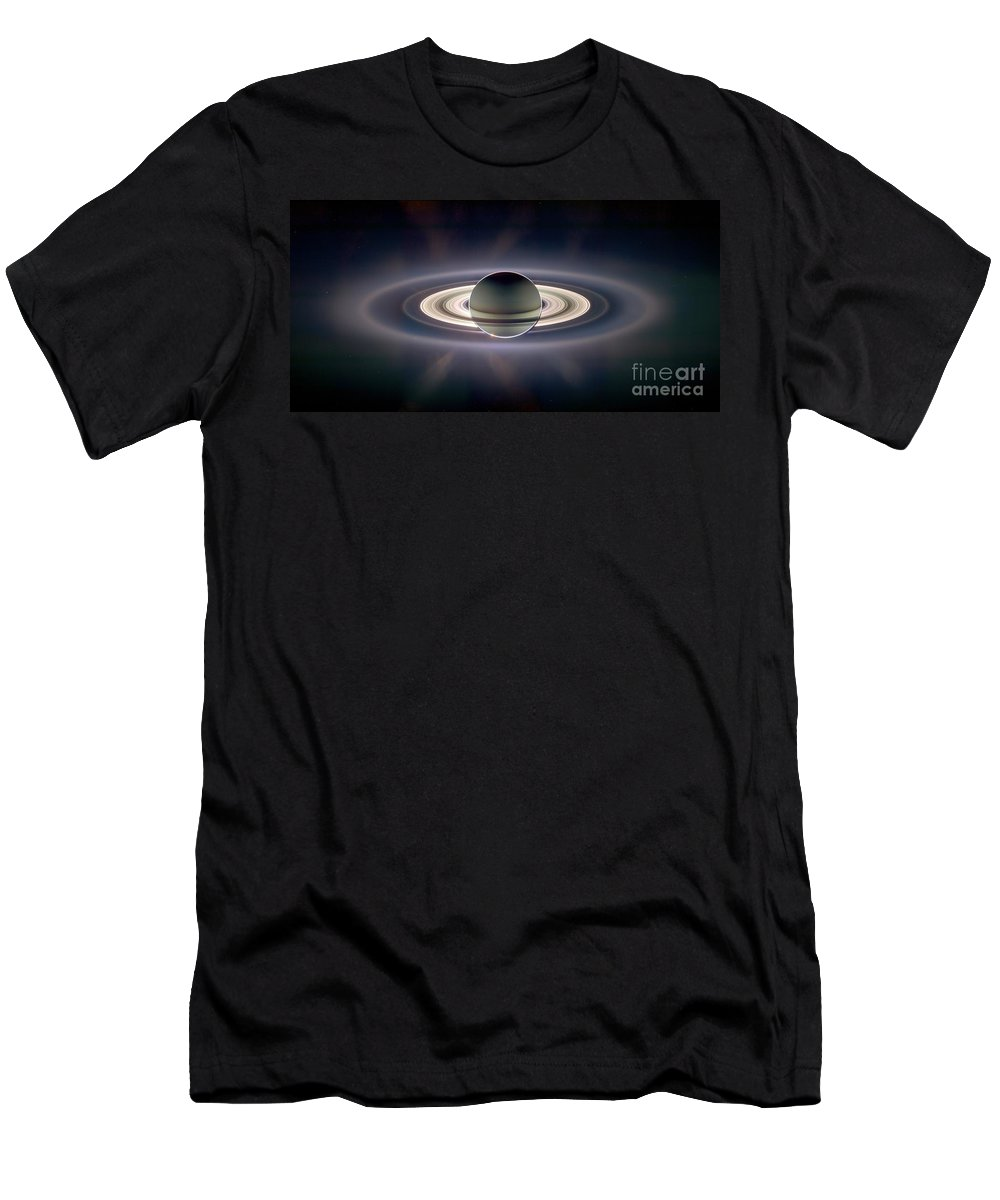 2006 T-Shirt featuring the photograph Saturn by NASA Science Source