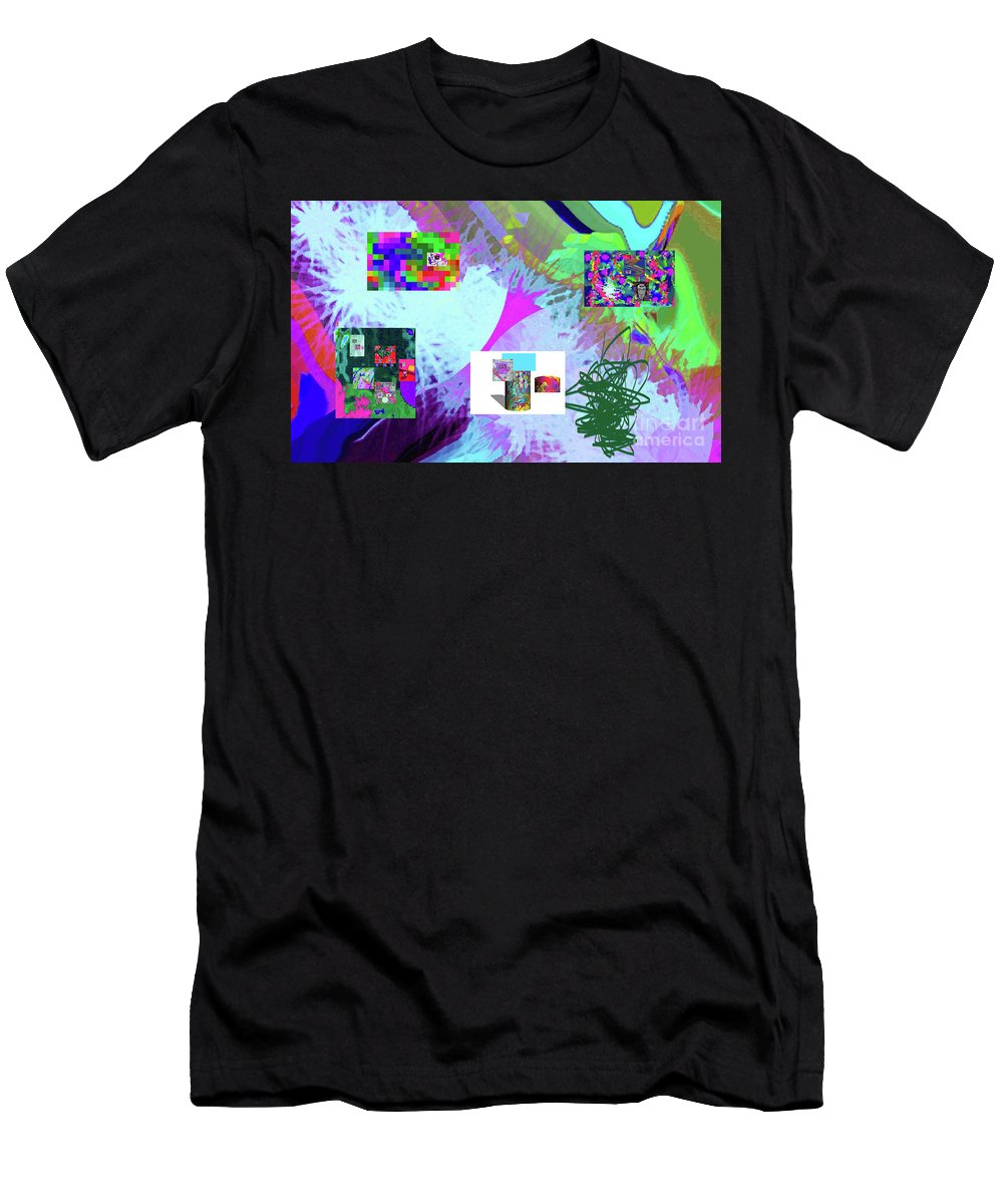 Walter Paul Bebirian Men's T-Shirt (Athletic Fit) featuring the digital art 4-18-2015babcdefghijklmnopqrtuvwxyzabcdefghijkl by Walter Paul Bebirian