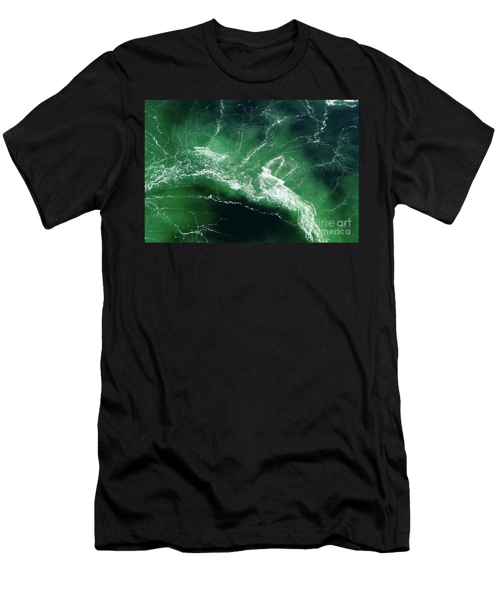 N Men's T-Shirt (Athletic Fit) featuring the photograph Alaska by Heather Titus