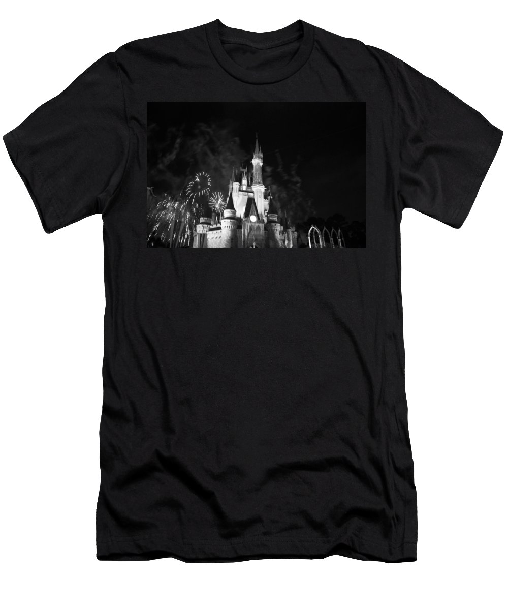 Walt Disney World T-Shirt featuring the photograph Cinderella Castle by Rob Hans