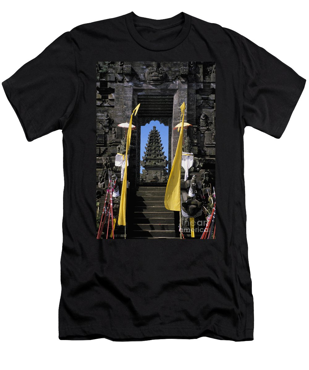 Ancient Men's T-Shirt (Athletic Fit) featuring the photograph Indonesia, Bali by Gloria & Richard Maschmeyer - Printscapes