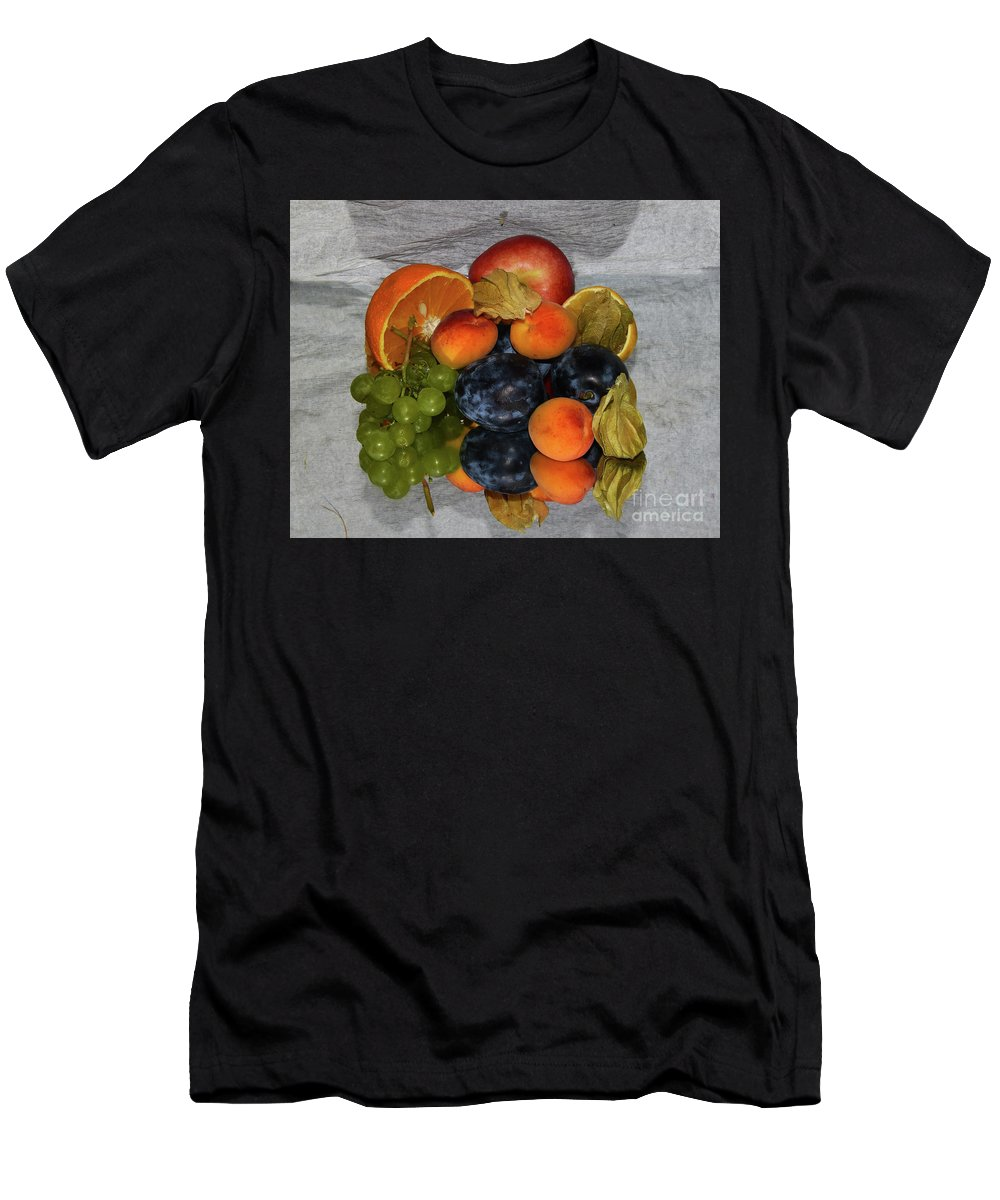 Fruits Men's T-Shirt (Athletic Fit) featuring the photograph Multicolor Fruits by Elvira Ladocki