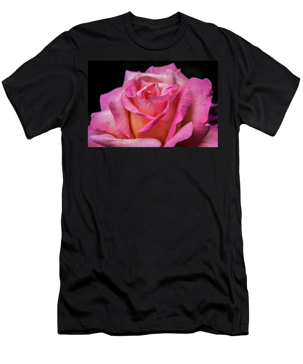 Rose Men's T-Shirt (Athletic Fit) featuring the photograph Perfect Umperfection by Irena Kazatsker