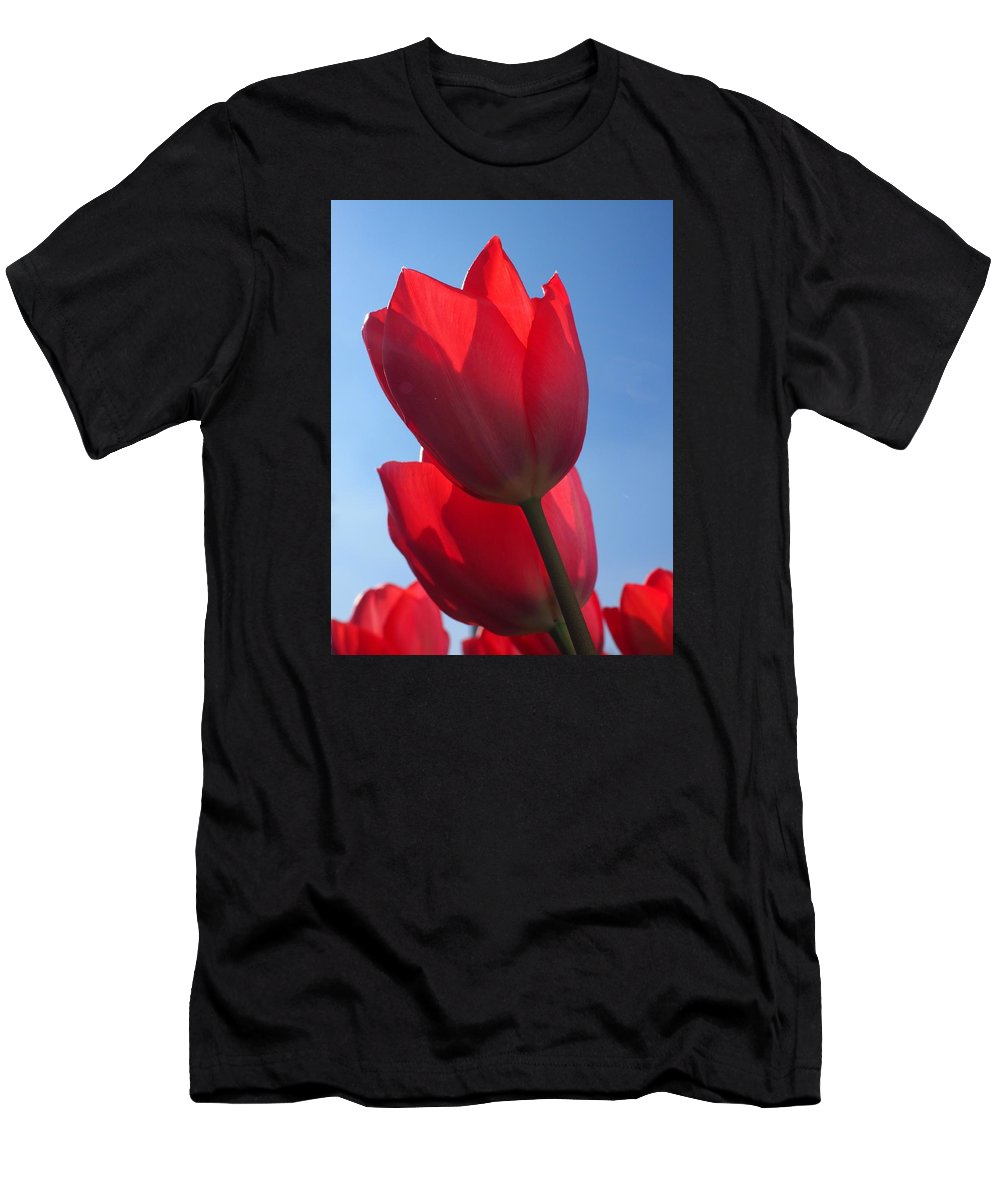 Flower Men's T-Shirt (Athletic Fit) featuring the photograph Flowers by FL collection