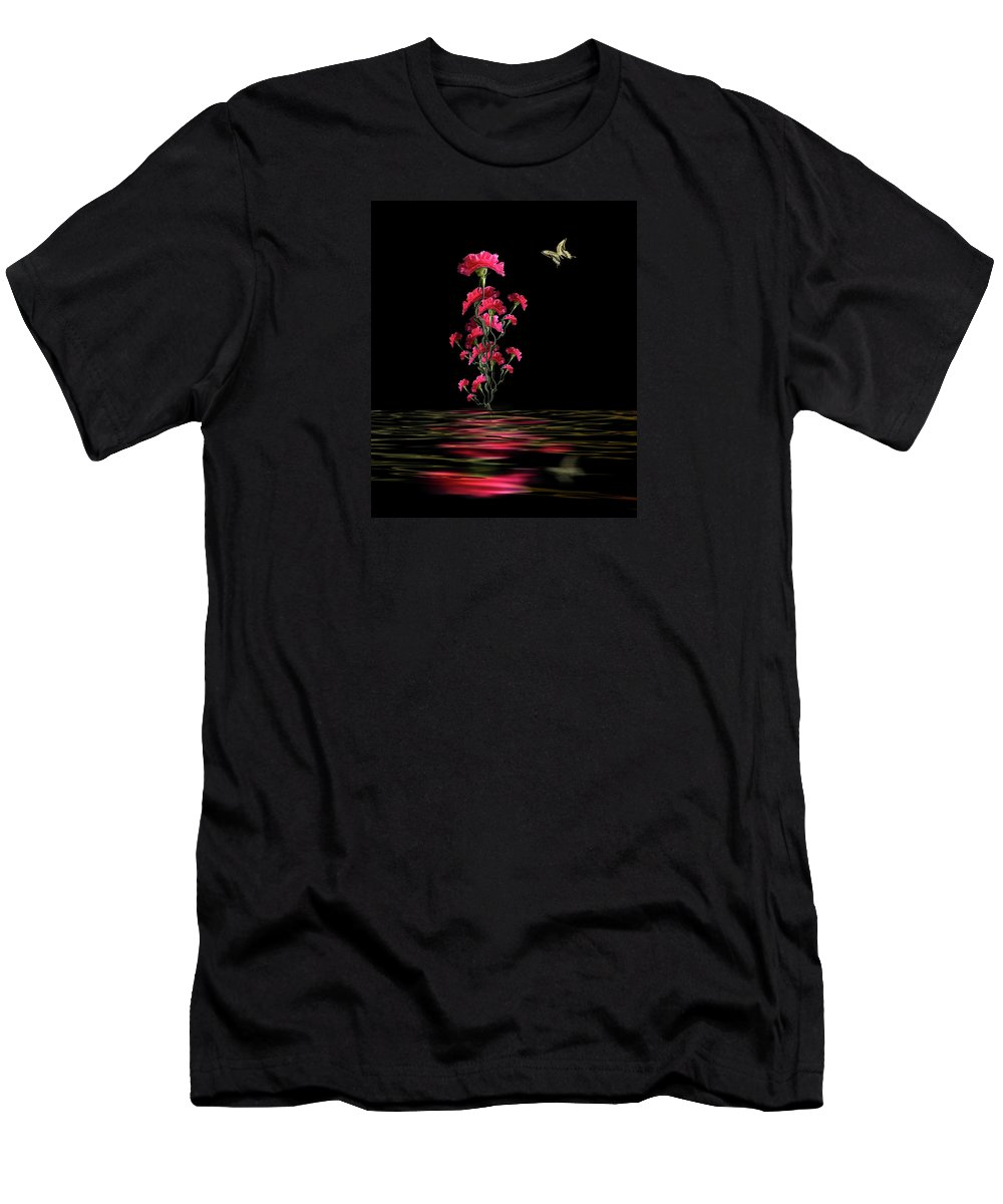 Flowers Men's T-Shirt (Athletic Fit) featuring the photograph 4210 by Peter Holme III