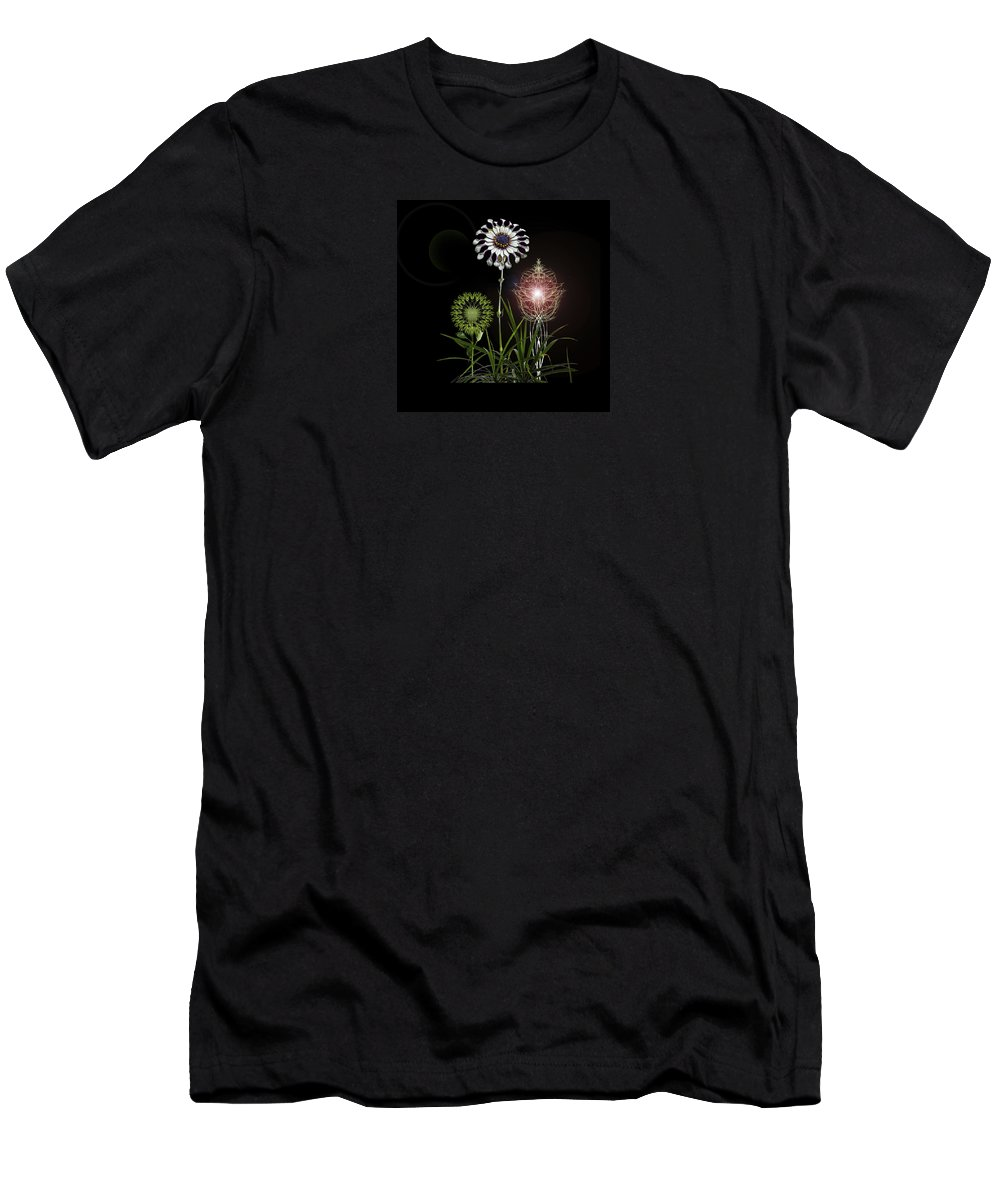 Flora Men's T-Shirt (Athletic Fit) featuring the photograph 4369 by Peter Holme III