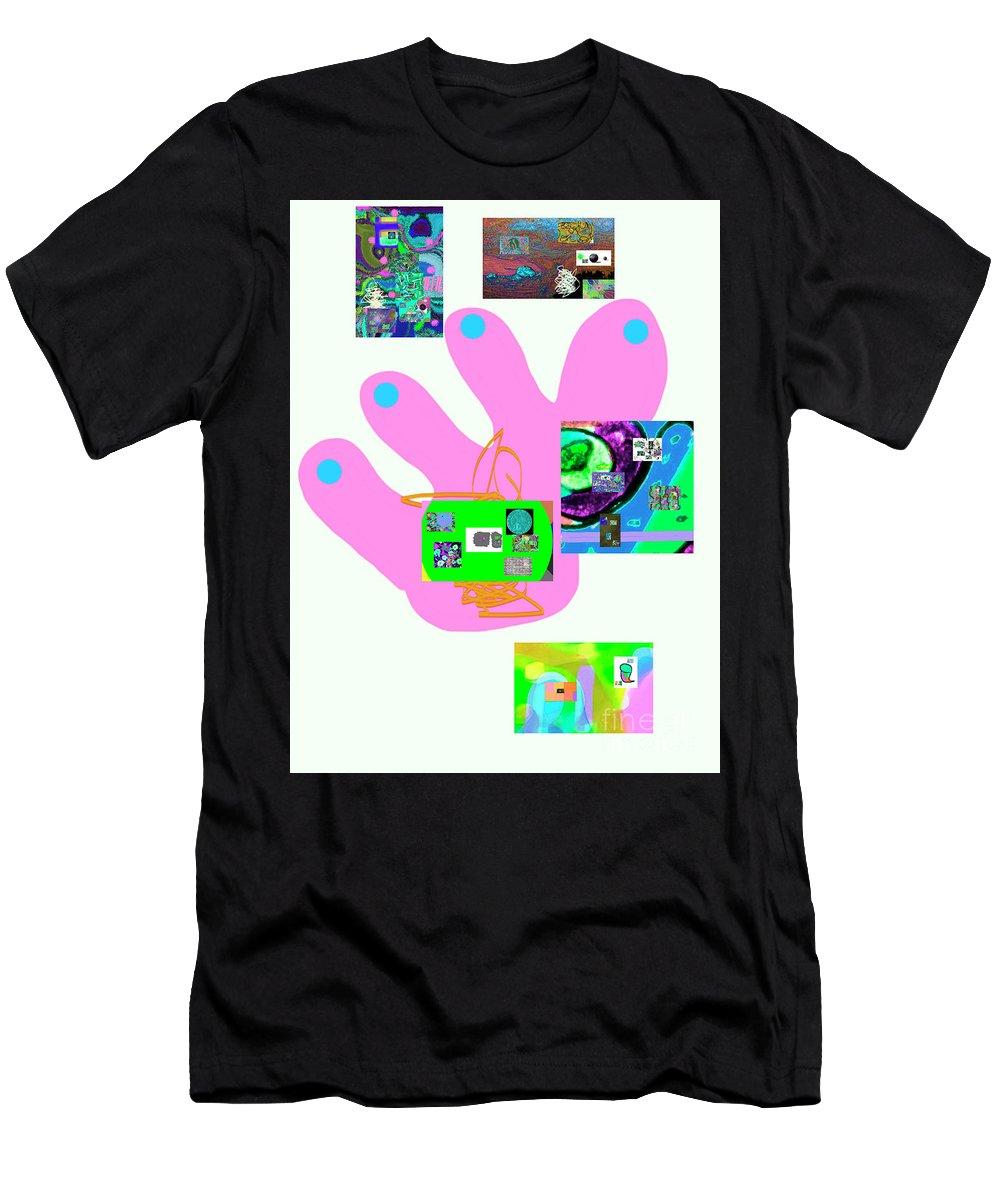 Walter Paul Bebirian Men's T-Shirt (Athletic Fit) featuring the digital art 5-5-2015babcdefghijklmn by Walter Paul Bebirian
