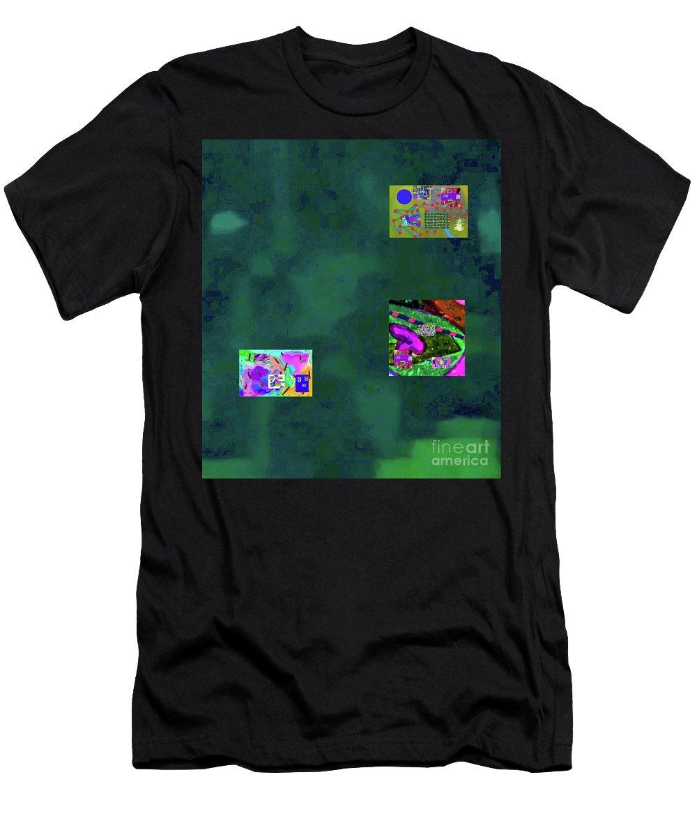 Walter Paul Bebirian Men's T-Shirt (Athletic Fit) featuring the digital art 5-6-2015cabcde by Walter Paul Bebirian
