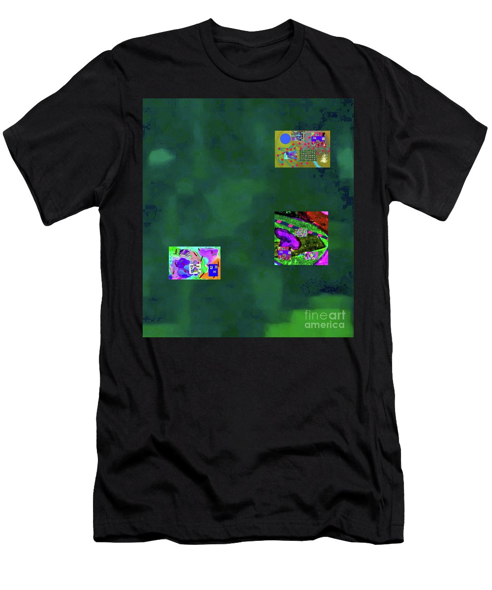 Walter Paul Bebirian Men's T-Shirt (Athletic Fit) featuring the digital art 5-6-2015cabcdef by Walter Paul Bebirian