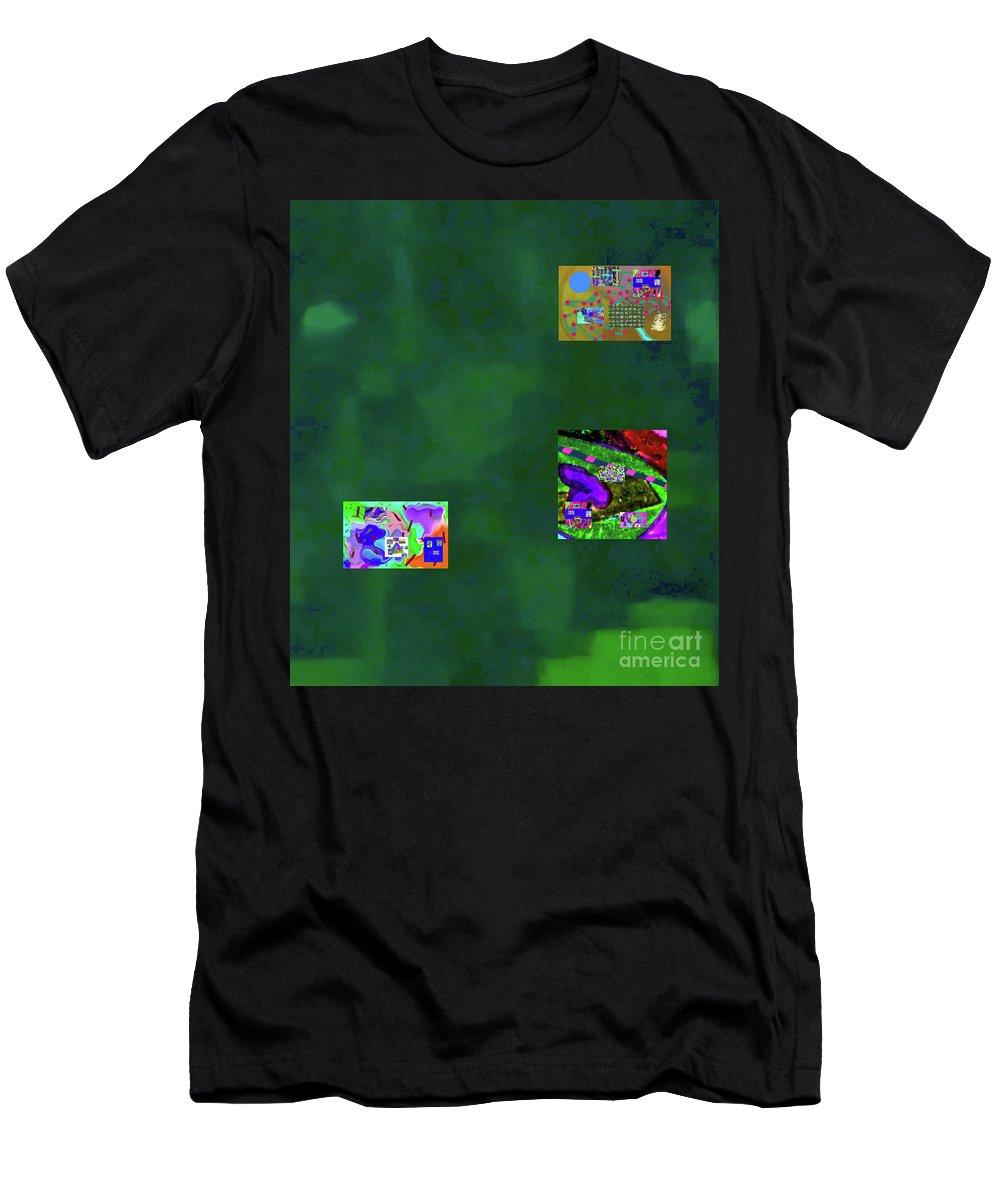 Walter Paul Bebirian Men's T-Shirt (Athletic Fit) featuring the digital art 5-6-2015cabcdefg by Walter Paul Bebirian