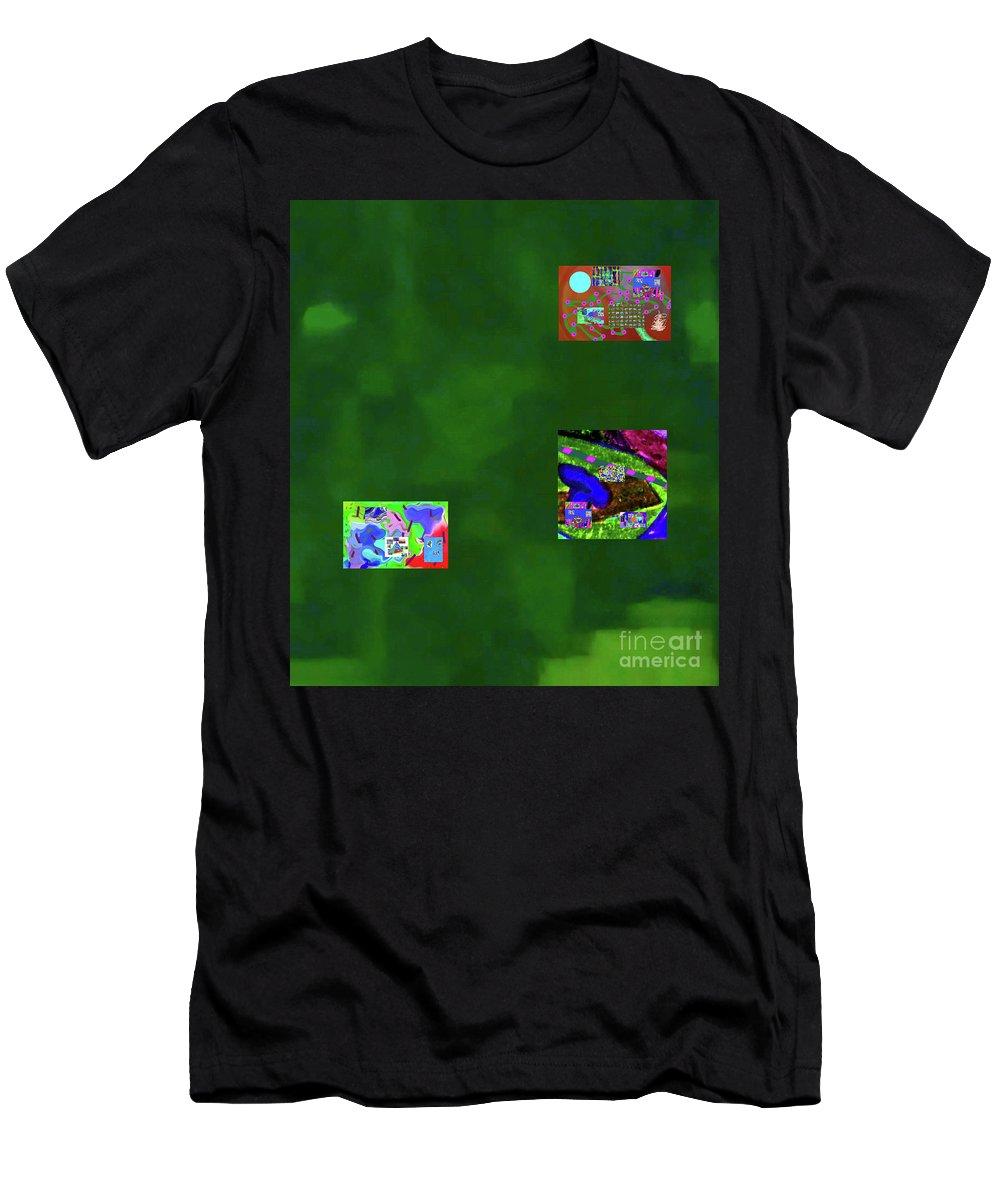 Walter Paul Bebirian Men's T-Shirt (Athletic Fit) featuring the digital art 5-6-2015cabcdefghij by Walter Paul Bebirian