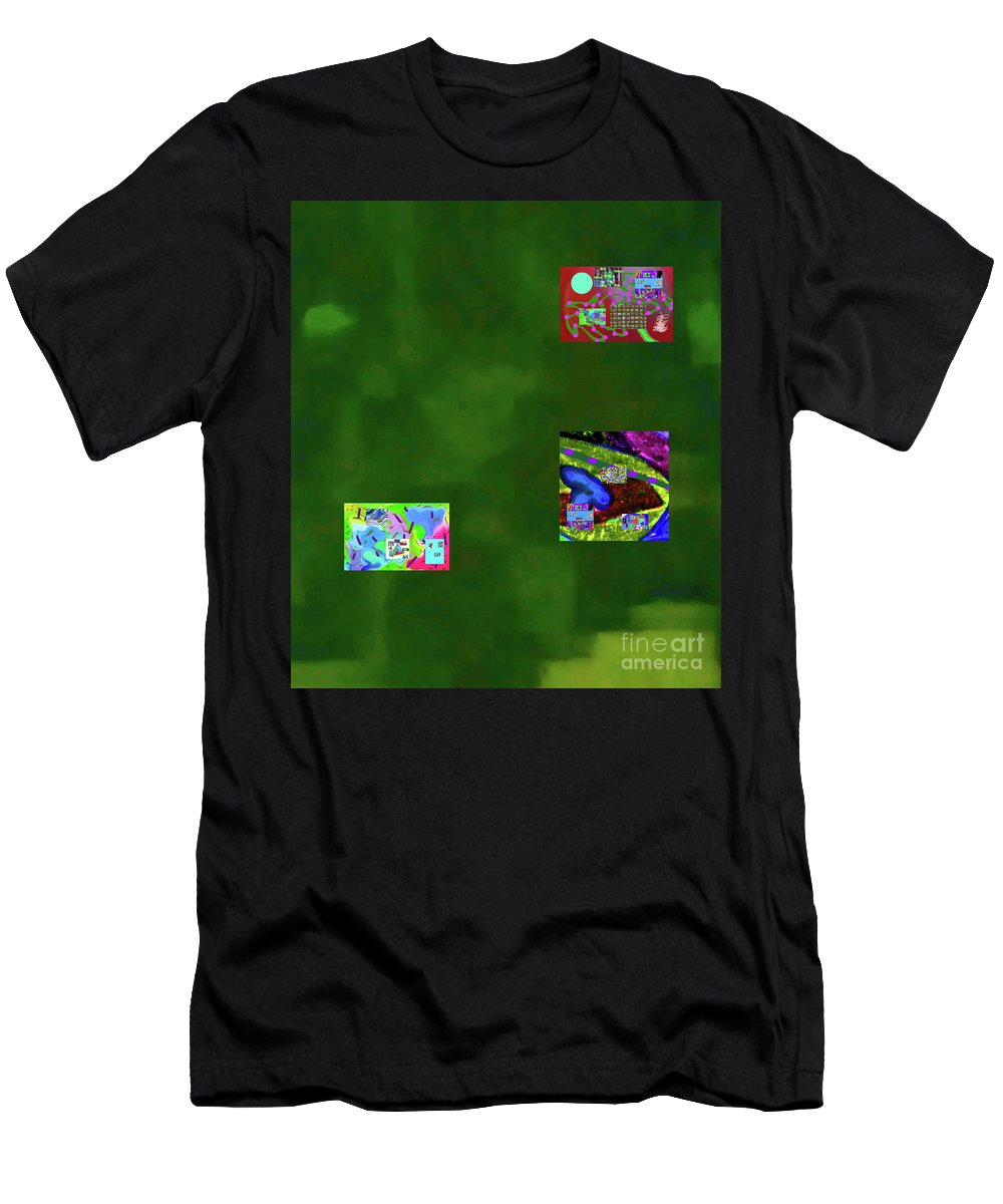 Walter Paul Bebirian Men's T-Shirt (Athletic Fit) featuring the digital art 5-6-2015cabcdefghijkl by Walter Paul Bebirian