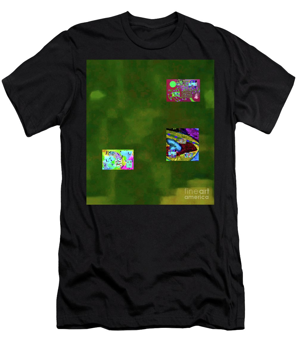 Walter Paul Bebirian Men's T-Shirt (Athletic Fit) featuring the digital art 5-6-2015cabcdefghijklmn by Walter Paul Bebirian