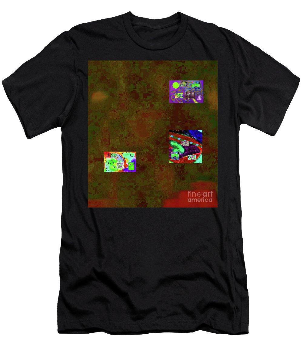 Walter Paul Bebirian Men's T-Shirt (Athletic Fit) featuring the digital art 5-6-2015cabcdefghijklmnopqrt by Walter Paul Bebirian