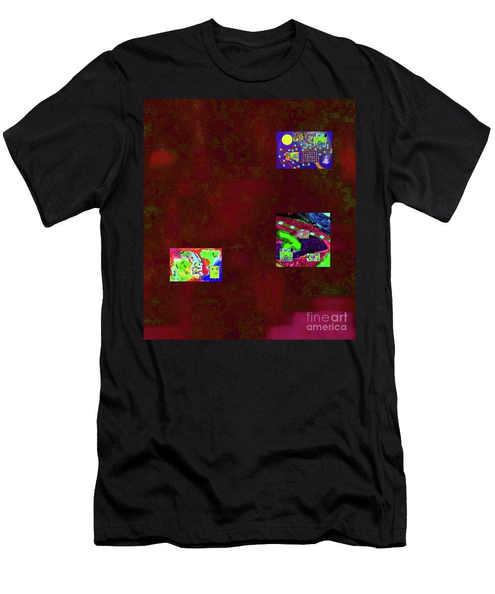 Walter Paul Bebirian Men's T-Shirt (Athletic Fit) featuring the digital art 5-6-2015cabcdefghijklmnopqrtuvw by Walter Paul Bebirian