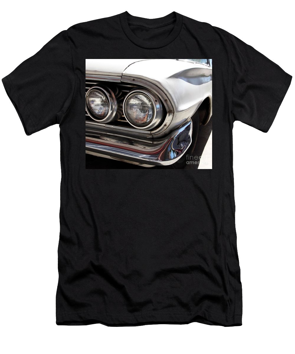 Cars Men's T-Shirt (Athletic Fit) featuring the photograph Biscayne by Amanda Barcon