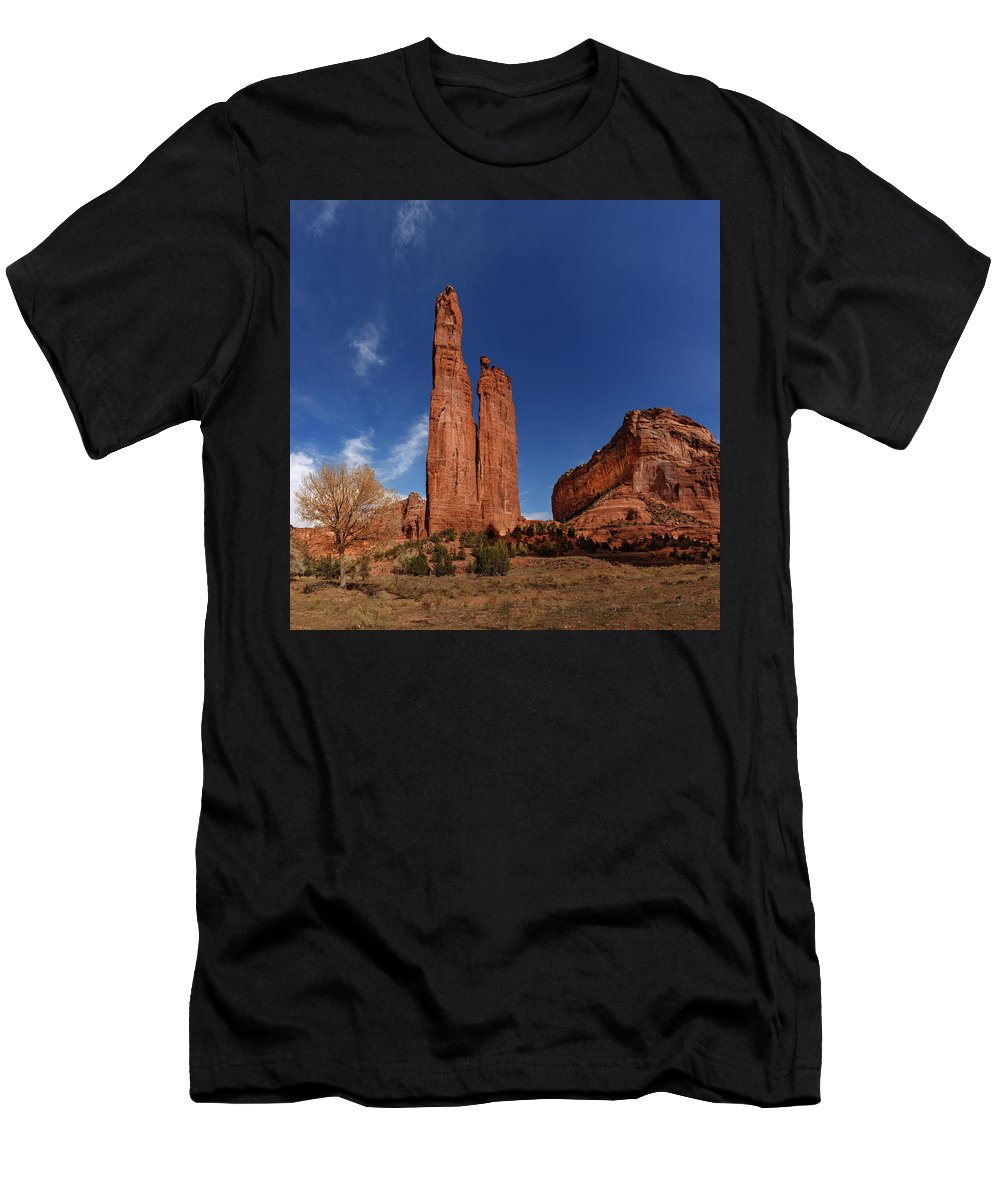 Canyon De Chelly Men's T-Shirt (Athletic Fit) featuring the photograph Canyon De Chelly by Mike Penney