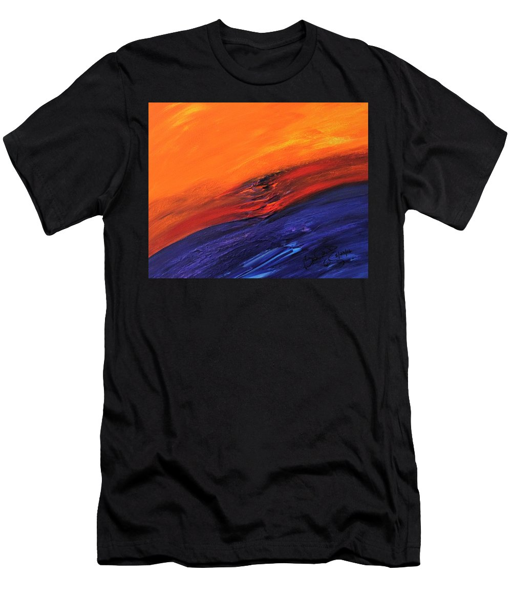 Men's T-Shirt (Athletic Fit) featuring the painting Masterpiece Collection by Brenda Basham Dothage
