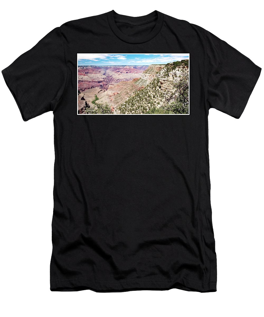 Grand Canyon Men's T-Shirt (Athletic Fit) featuring the photograph Grand Canyon, Arizona by A Gurmankin