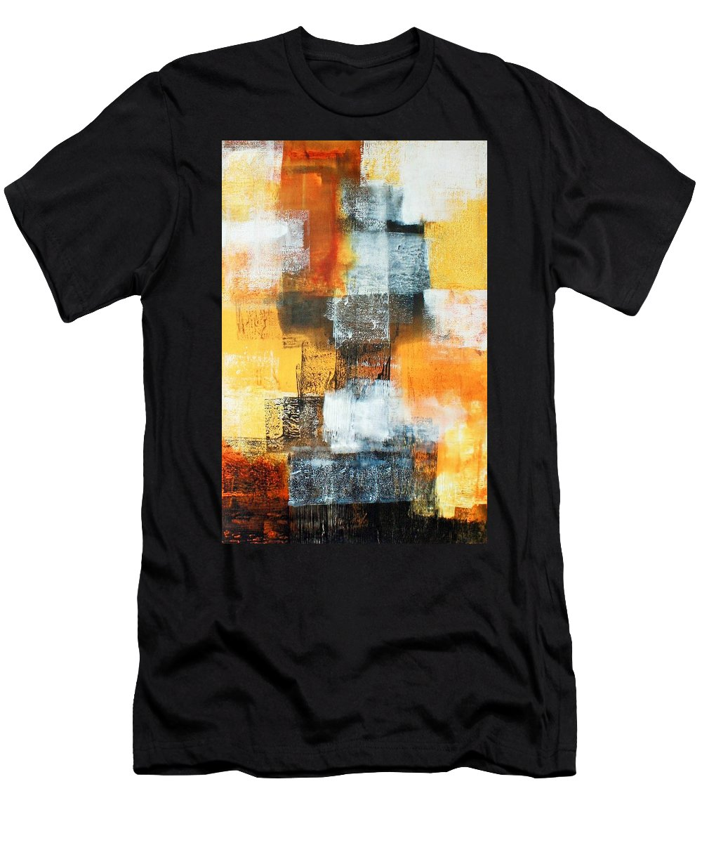Art Men's T-Shirt (Athletic Fit) featuring the painting Untitled by William Hartill