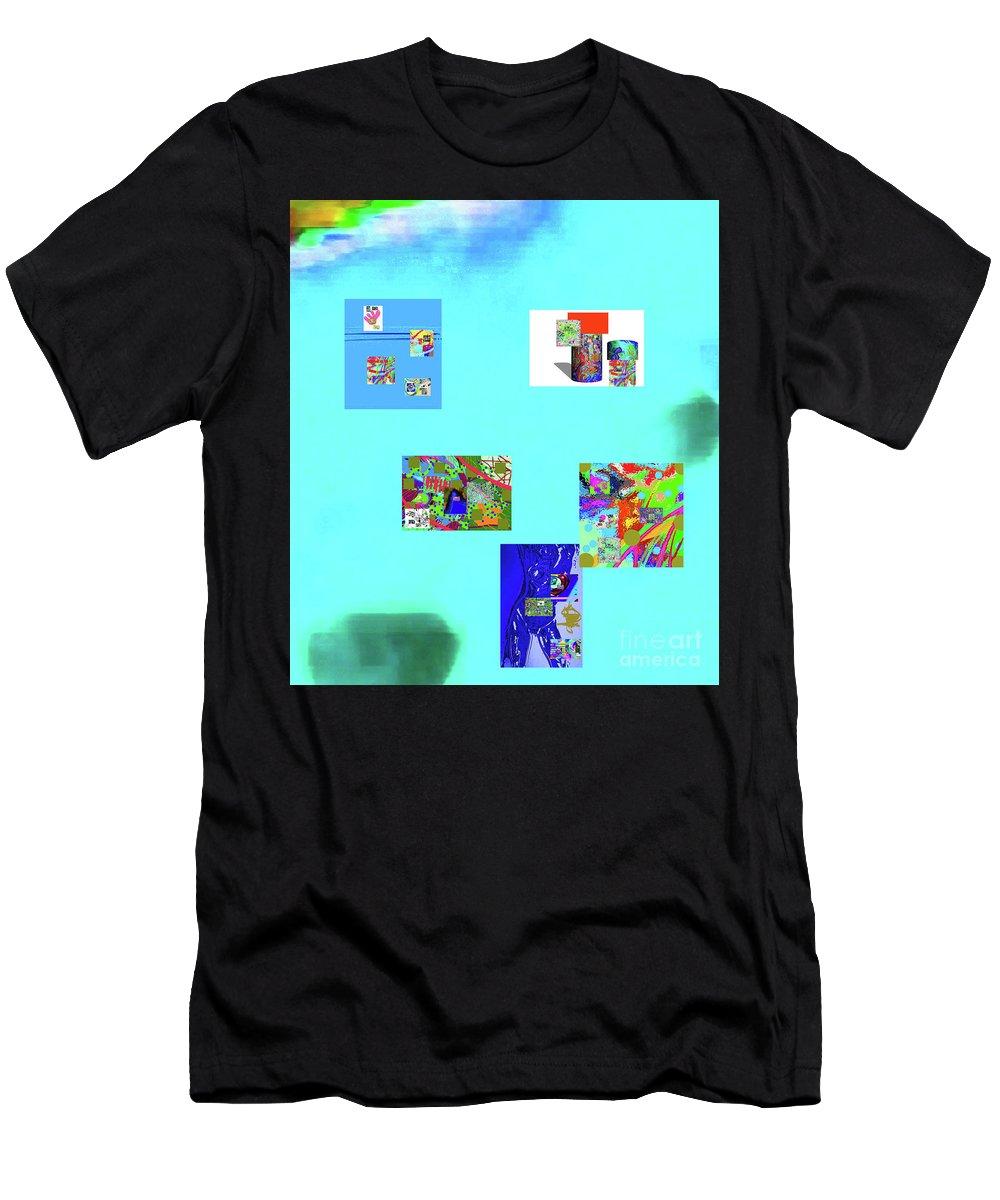 Walter Paul Bebirian Men's T-Shirt (Athletic Fit) featuring the digital art 8-10-2015abcdefghi by Walter Paul Bebirian