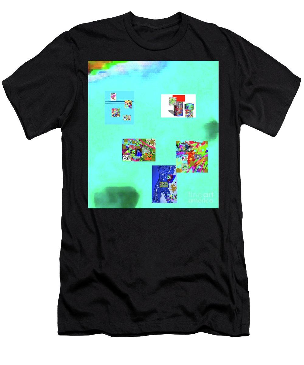 Walter Paul Bebirian Men's T-Shirt (Athletic Fit) featuring the digital art 8-10-2015abcdefghij by Walter Paul Bebirian