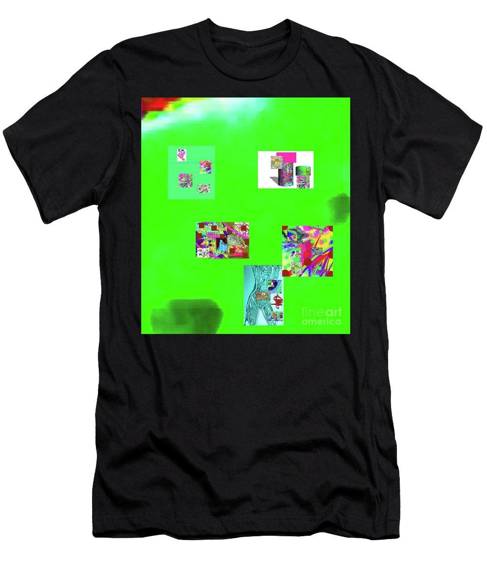 Walter Paul Bebirian Men's T-Shirt (Athletic Fit) featuring the digital art 8-10-2015abcdefghijklmn by Walter Paul Bebirian