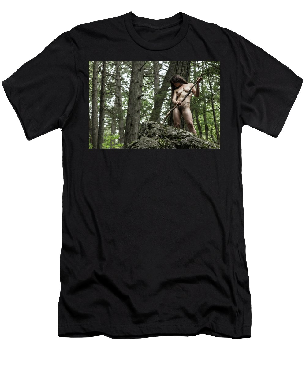 Manecat Men's T-Shirt (Athletic Fit) featuring the photograph Ana by Manecat Shoots