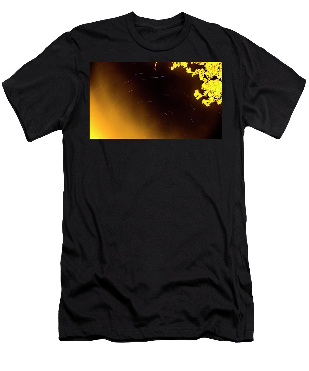 Men's T-Shirt (Athletic Fit) featuring the photograph Mingus Park by Angus Hooper Iii