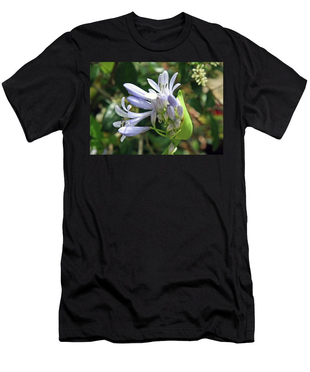 Flower Men's T-Shirt (Athletic Fit) featuring the photograph A Blooming Bud by Cora Wandel
