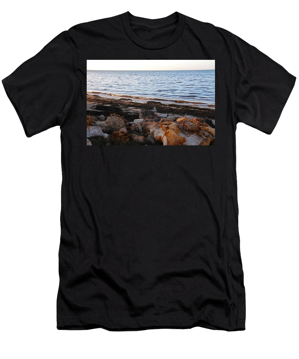 Bokeelia Men's T-Shirt (Athletic Fit) featuring the photograph A Bokeelia Afternoon by Michiale Schneider