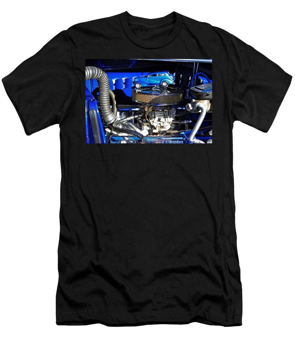 Car Old Roadster Men's T-Shirt (Athletic Fit) featuring the photograph A Classic by Robert Pearson