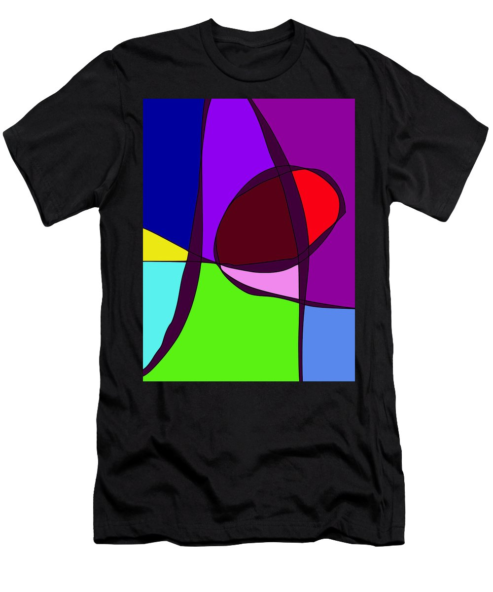 A Men's T-Shirt (Athletic Fit) featuring the digital art A by Masaaki Kimura
