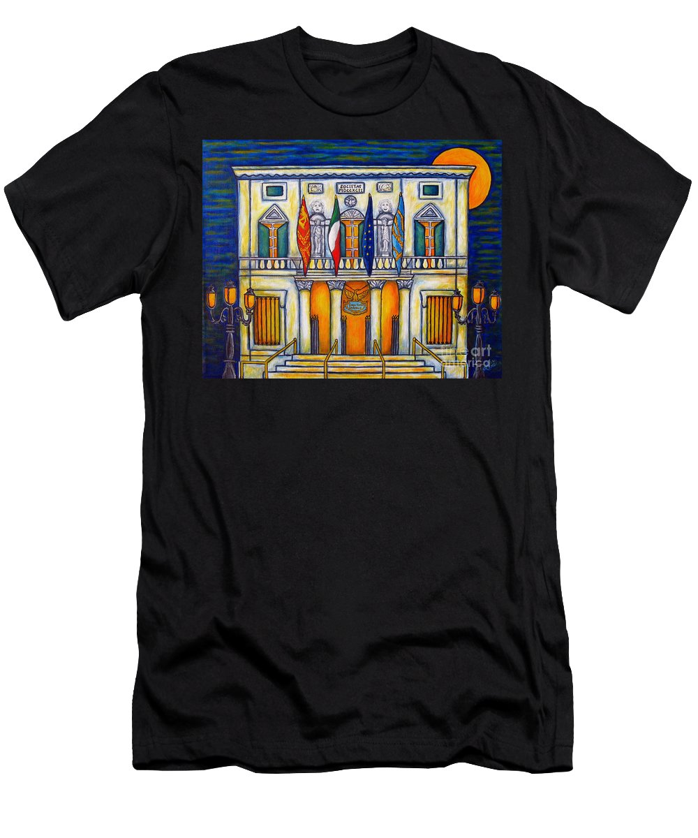 Theatre T-Shirt featuring the painting A Night at the Fenice by Lisa Lorenz