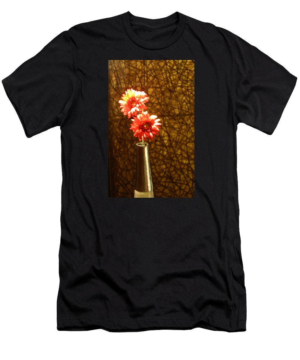 Flowers Men's T-Shirt (Athletic Fit) featuring the digital art A Perfect Vase by Joseph Coulombe